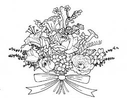 wedding flowers drawing wedding flowers coloring pages search we re getting