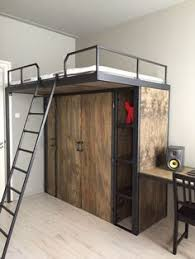 A Frame Bunk Bed Loft Pipe Bed Frame Black Pipes And Maybe Not The High Wood