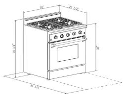 Kitchen Cabinet Dimensions Standard Stove Size Graphite Convector Stove Dimensions