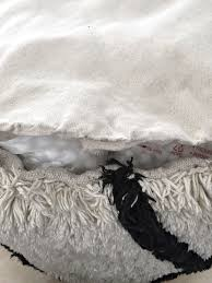 a trick for re stuffing a deflated bean bag or pouf cuckoo4design