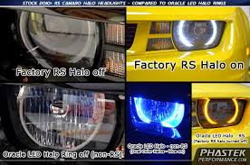 Fog Light Kits Camaro Oracle Colorshift 2 0 Color Changing Halo Rings For Years
