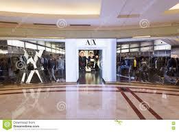Suria Klcc Floor Plan by Armani Exchange Store In Suria Klcc Mall Kuala Lumpur Editorial