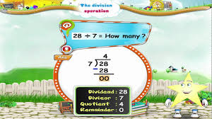 grade 3 mathematics learn grade 3 maths the division operation