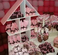 pink and brown baby shower pink and brown baby showers jpg