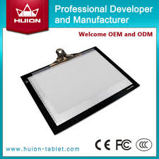 alibaba china huion super slim tattoo light box usb led tracing