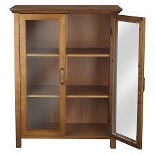 amazon com elegant home fashion anna floor cabinet with 2 door