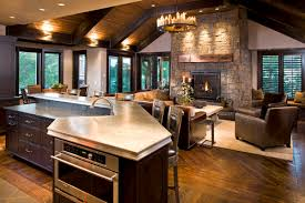 Living Room And Kitchen Design by Open Living Room And Kitchen Designs Shock 17 Concept 3