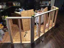 how to build a kitchen island roses and wrenches