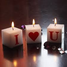 home decor with candles new candles couple bougie letters i love you romantic candle set