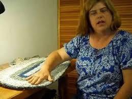 Crochet Oval Rag Rug Pattern Keep An Oval Rag Rug Flat U0026 Smooth Youtube