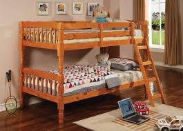 Pine Bunk Beds Quick View Woodcrest Heartland Futon Bunk Bed With - Simmons bunk bed mattress