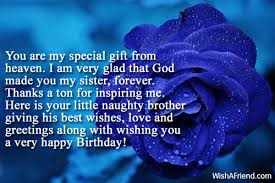 you are my special gift from birthday message