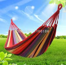 whole sale free shopping outdoor canvas hammock thickening outdoor