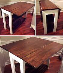 diy kitchen island table white drop leaf kitchen island diy projects regarding ideas 2
