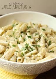 recipes with pasta cream garlic penne pasta lil luna