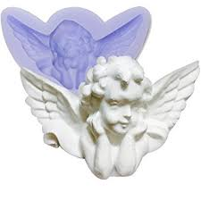 amazon com chawoorim angel silicone molds plaster craft christmas
