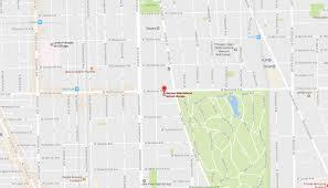 Chicago Loop Map Transportation German International Chicago