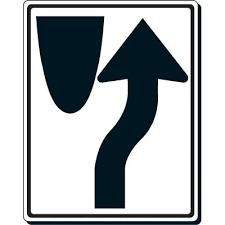 reflective traffic signs keep right traffic symbol seton