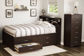 Twin Bed With Pull Out Bed Bedroom Queen Size Captains Bed Captains Beds Twin Trundle