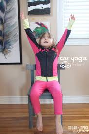 space yoga for kids sugar spice and glitter