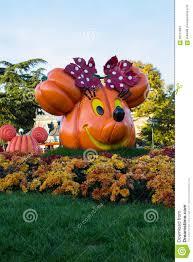 disneyland paris during halloween celebrations editorial stock