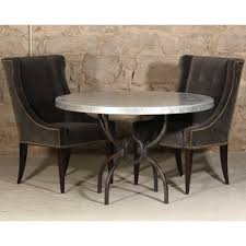 logan iron dining table with 48