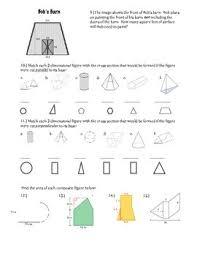 geometry study guide 7th grade math common core standards