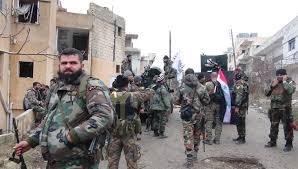 Rebel Syrian Flag Confirmed Isis Defeated In Al Sukhnah Syrian Army Prepares
