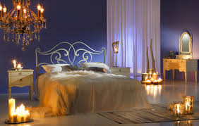 interior design with flowers bedroom wedding bedroom decoration with flowers and candles