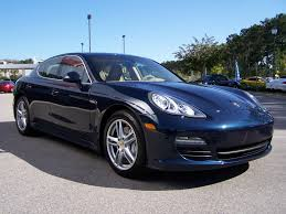 navy blue maserati 2010 porsche panamera s in dark blue metalic with luxor beige