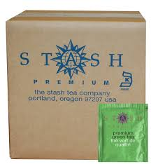 stash tea premium green tea 100 count box of tea