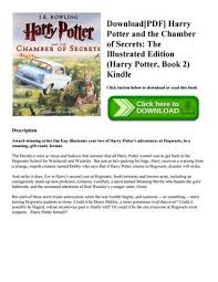 harry potter et la chambre des secrets pdf pdf harry potter and the chamber of secrets the