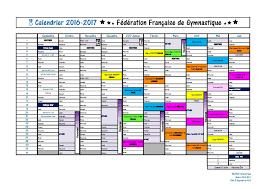 Calendrier Fdration Franaise De Actualité Saison 2017 Calendrier Des Compétitions