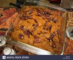 thanksgiving usa sweet potato casserole with pecans side dish thanksgiving usa