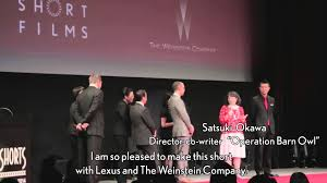 lexus hoverboard operation world premiere of lexus short films 2014 at the tokyo short shorts