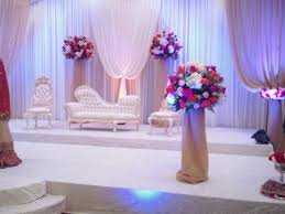 3 white color decorations muslim wedding weddings eve