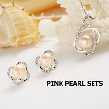 big pearls necklace images Top quality trendy cross 925 sterling silver jewelry sets pendant jpg