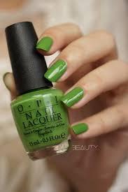 opi u0027did it on u0027em u0027 fluorescent green nail polish
