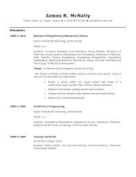 graduate mechanical engineer resume sample engineering technician resume free resume example and writing resume network engineer mechanical engineer resume template