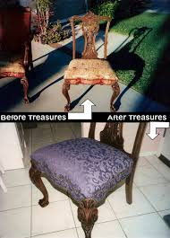 Custom Upholstered Dining Chairs W Hollywood Ca Restoration Reupholstery Custom Furniture Upholstery