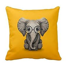 Elephant Decor For Home Amazon Com Elephant Pillow Cases 18 X 18 Inches Decor For Couch