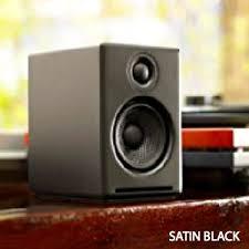 Bookshelf Computer Speakers Amazon Com Audioengine A2 Black Pr 2 Way Powered Speaker