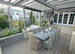 Hamptons Style Outdoor Furniture - outdoor decking urbanspicehomewares