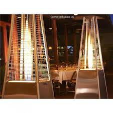 gas ceiling heaters patio athena plus real flame patio heater u0026 free weather cover posh
