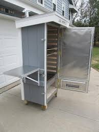 home built smoker plans 10 simple and inexpensive diy meat smokers metals woods and meat