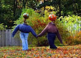 Unique Halloween Crafts - 33 pumpkin people inspirations to make unique halloween