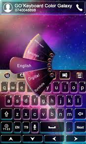go keyboard theme apk go keyboard color galaxy theme android apps on play