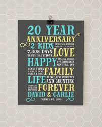 20th anniversary gift best 25 20th anniversary gifts ideas on 20th