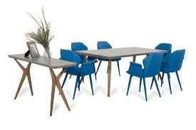 modrest dondi concrete dining table