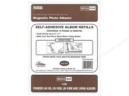 pioneer 3 ring photo albums pioneer refill page magnetic album lm 100 5pc createforless
